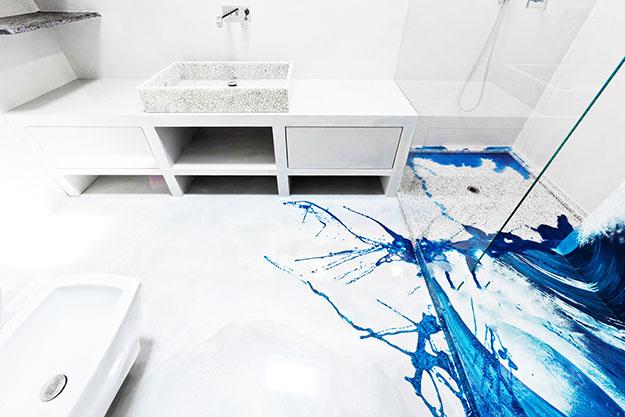 Gallery lavori arte e pittura lavori di pitturazione pontecagnano salerno arte e pittura - Pavimenti in resina per interni ...